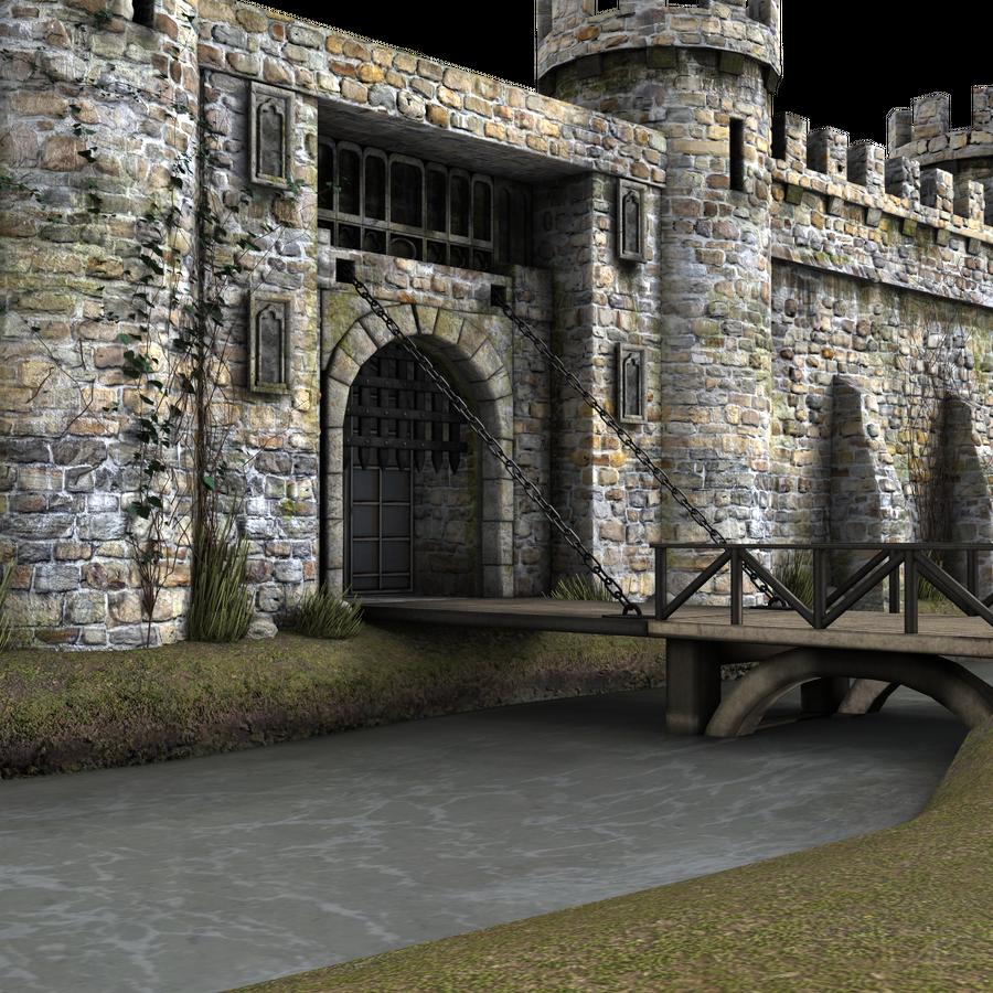 Castle Background Images on Castle Portcullis